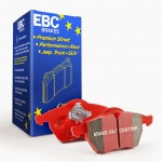 Brake Pad Set Front EBC Red - Zafira B VXR