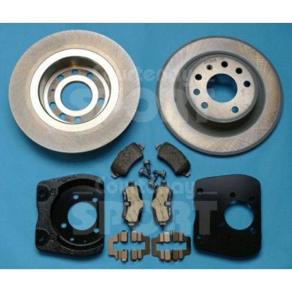 278mm Brake Upgrade Kit Rear - Astra G / Zafira A