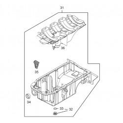 Oil Pan / Sump Assembly - 1.6 Turbo Z16LEx A16LEx B16LEx