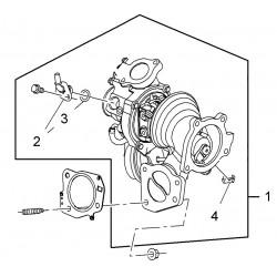 Turbocharger Astra J VXR Insignia 2.0T A20NFT