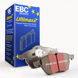 Brake Pad Set Front EBC Ultimax2 - Zafira B VXR