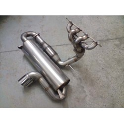 Full Exhaust System 63.5mm 200cpi - VX220 2.2