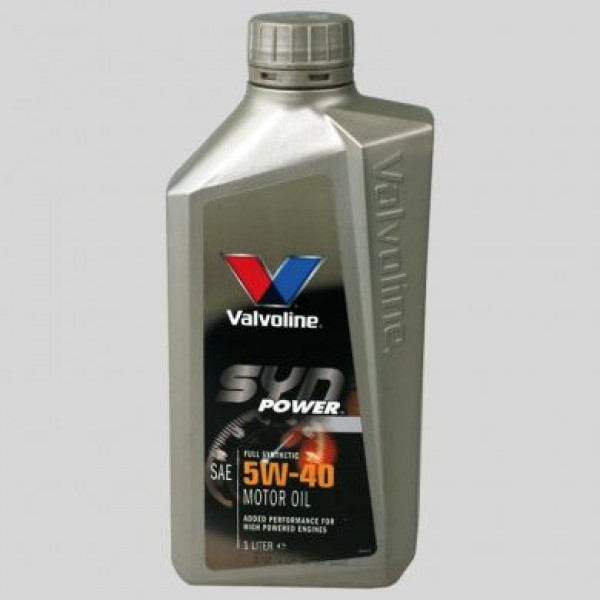 Engine Oil Fully Synthetic 5w-40 Valvoline SynPower - 1L