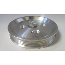 Alloy Bottom Pulley Multi V Underdrive No Flange - Z20LET VX220