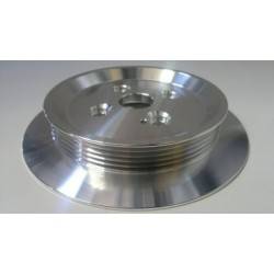 Alloy Bottom Pulley Multi V Underdrive With Flange Aircon Delete - Z20LEx FWD