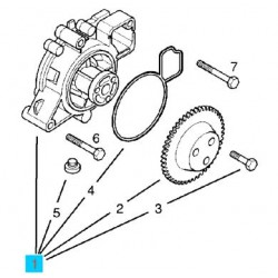 Water Pump Genuine - Z22SE