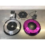 670 lb ft Xtreme Performance 240mm Ceramic Clutch and Solid Flywheel Kit - Z20LEx/M32