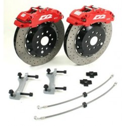 D2 6 Pot 356mm Front Brake Kit