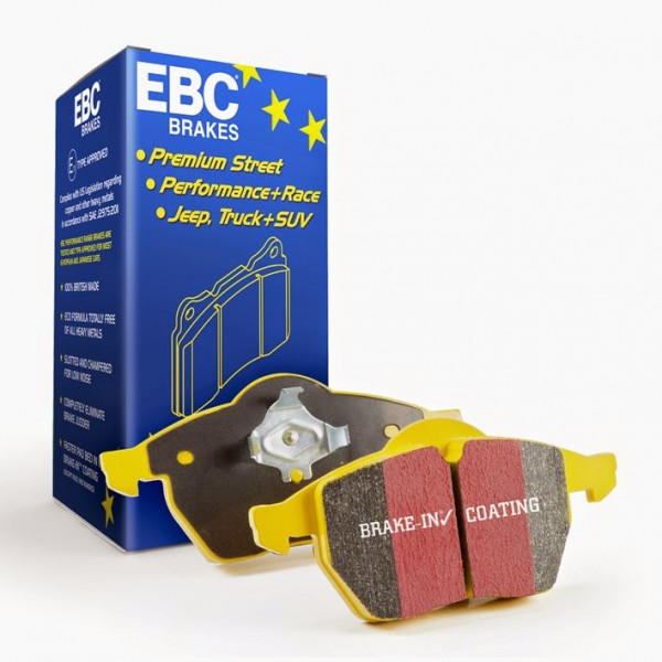 Brake Pad Set Rear EBC Yellow - Corsa E VXR