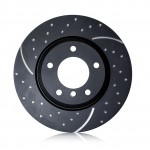 Brake Disc Set Front EBC GD Sport 264mm - Astra G 4 Stud