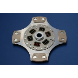 Clutch Uprated 240mm: 4 Paddle Rigid Disc - Astra H VXR