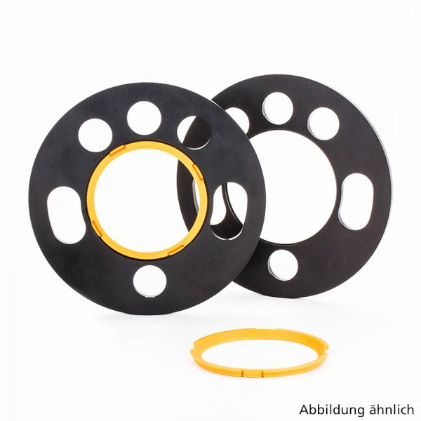 Wheel Spacers 15mm ST DZX 2 x 7.5mm Vauxhall Fit