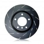 Brake Disc Set Front EBC USR Slotted 321mm - Astra G / Zafira A