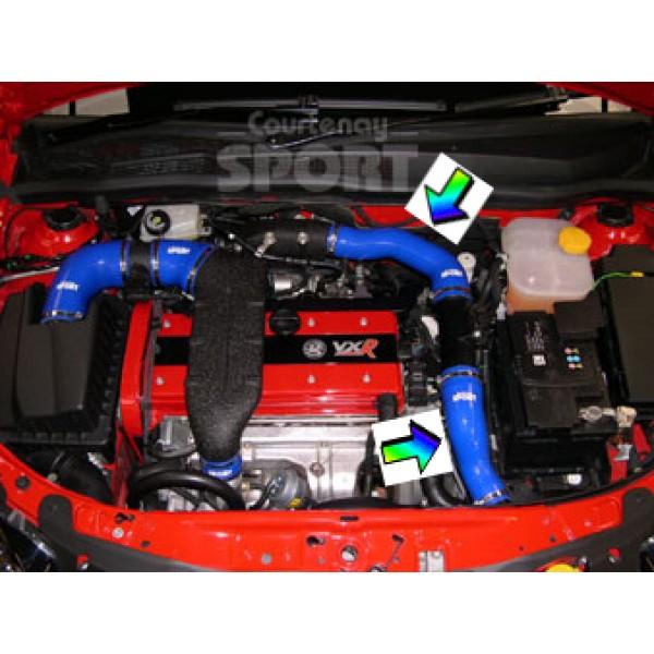 Intercooler to OE Plenum Hose Kit - Astra H / Zafira B VXR/OPC