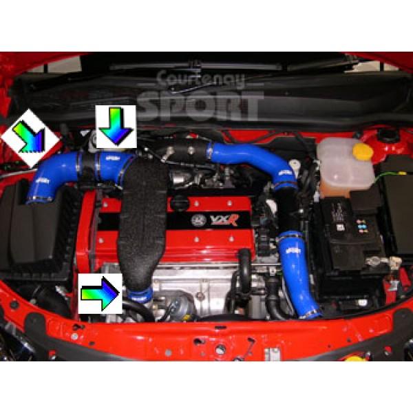 Silicone 3 Hose Kit - Astra G/Zafira A 2.0 Turbo