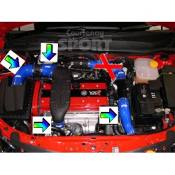 Silicone 4 Hose Kit - Astra H / Zafira B VXR