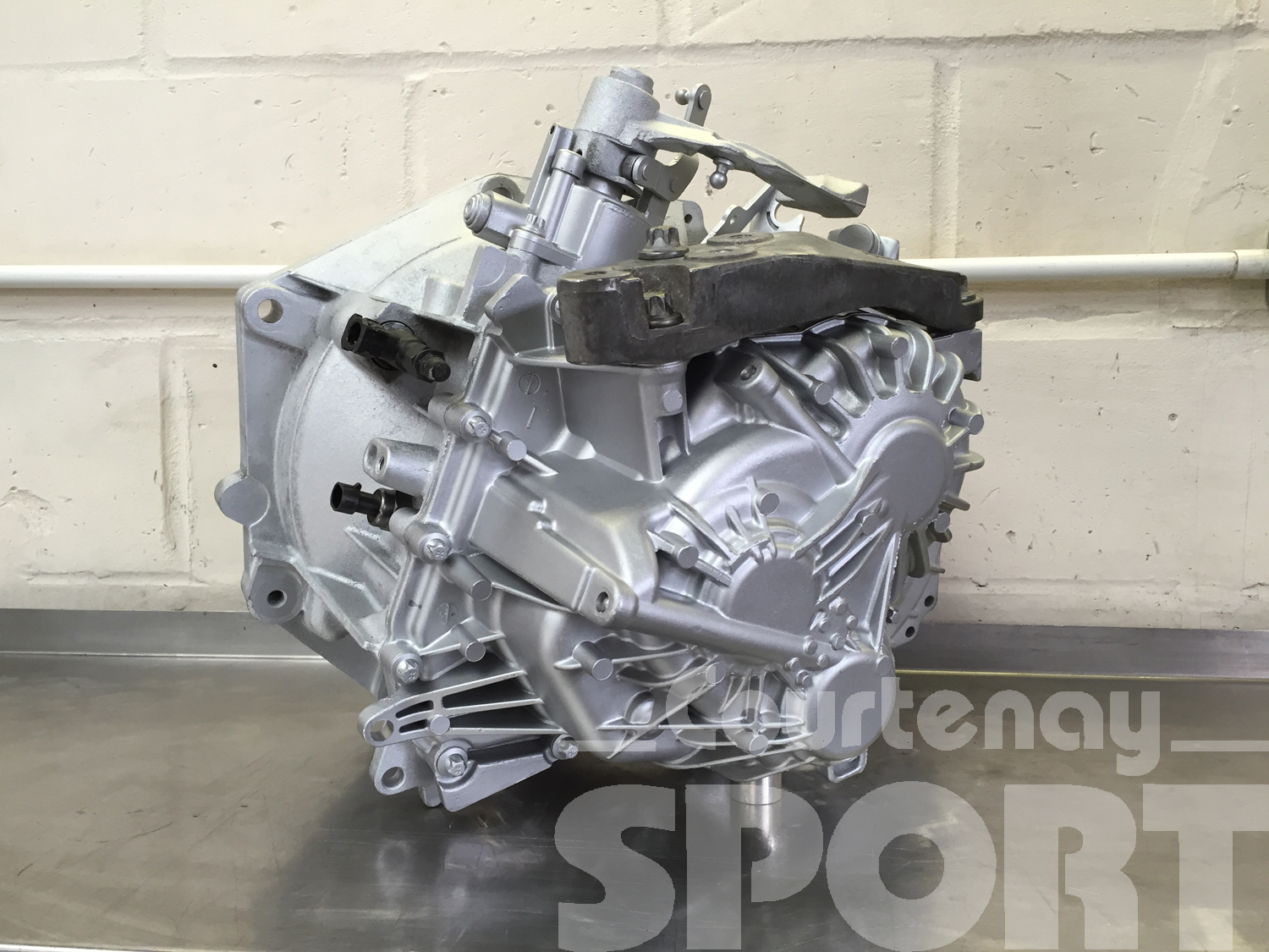 M32 Revised Gearbox Endcase Fitted