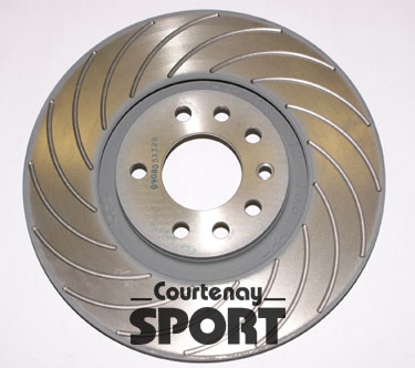 322mm Courtenay 16 Grooved VXR Front Disc