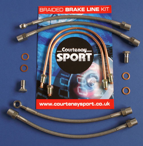 Brake Line Kit - Astra/Zafira Rear