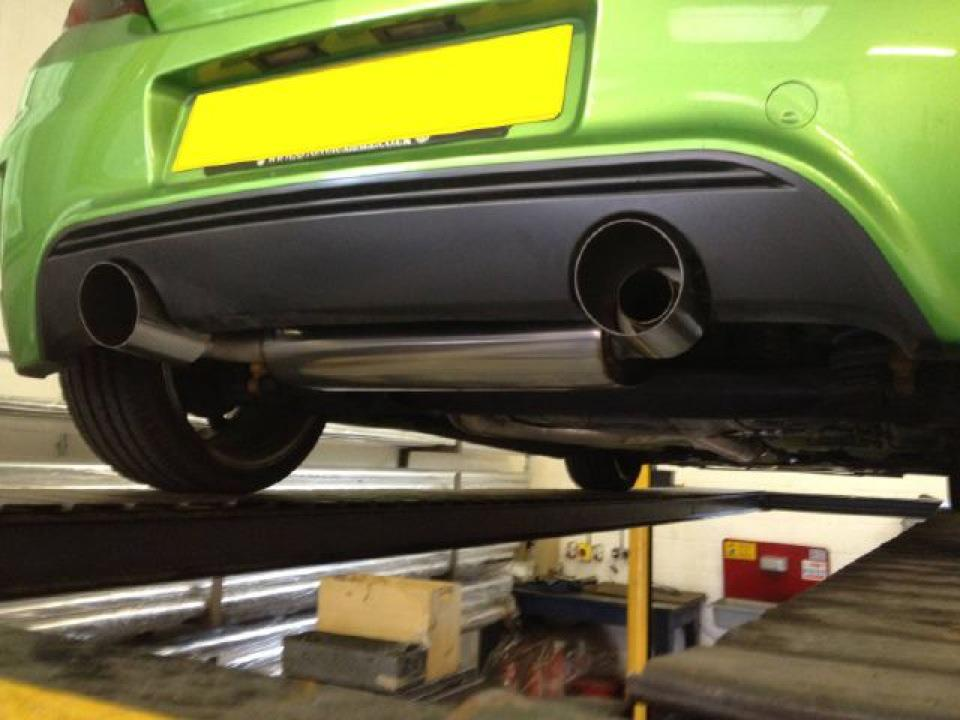 Corsa VXR Nurburgring Exhausts