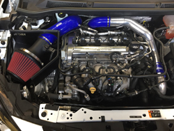 Astra J VXR engine bay with CSR MaxAir Intake System