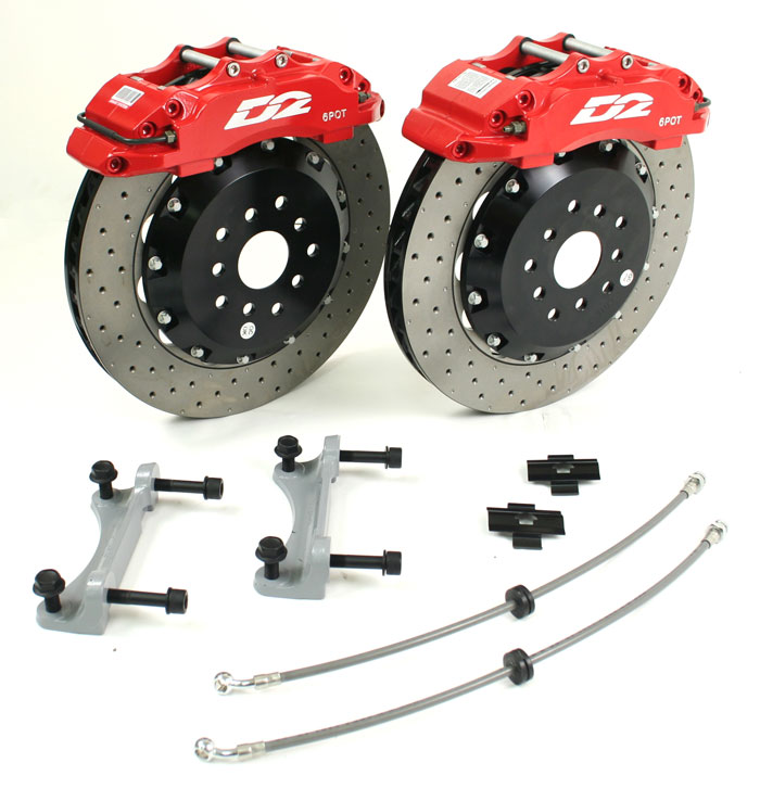 D2 356mm 6 Pot Brake Kit