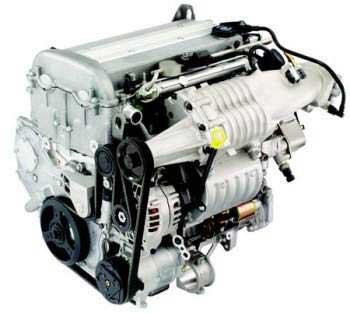 GM Supercharged Engine